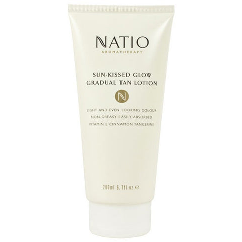Natio Sun-Kissed Glow Gradual Tan Lotion 200ml