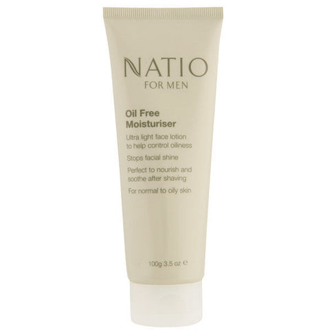 Natio For Men Oil Free Moisturiser 100g