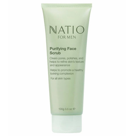 Natio For Men Purifying Face Scrub 100g