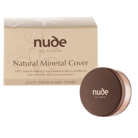 Nude By Nature Natural Mineral Cover Foundation - Light Skin Tones 15g