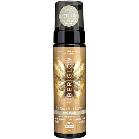 LE TAN Uber Glow Foamed Oil Self Tanning Foam - Ash Base 200 mL