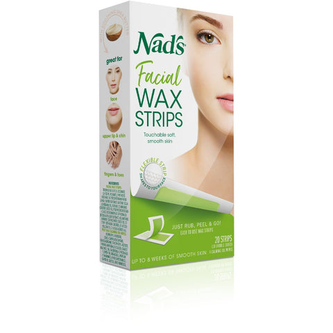 Nad's Facial Wax Strips 20
