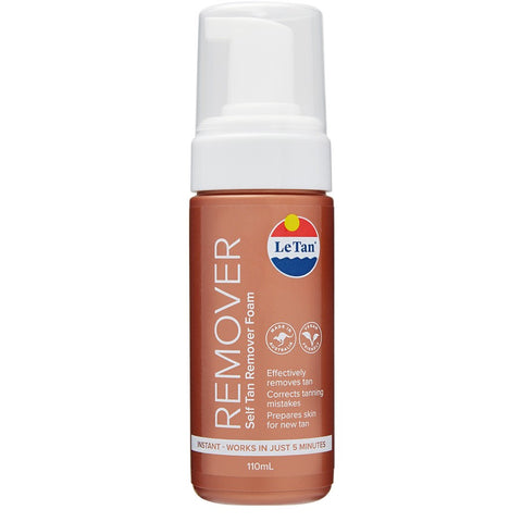 LE TAN SELF TAN REMOVER MOUSSE 110ML