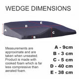 BA DELUXE SEAT WEDGE CUSHION