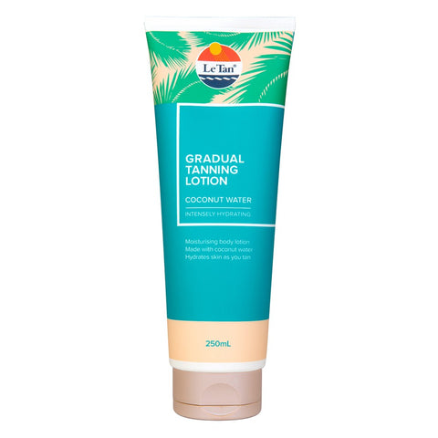 Le Tan Gradual Tanning Lotion Coconut Water - 250mL