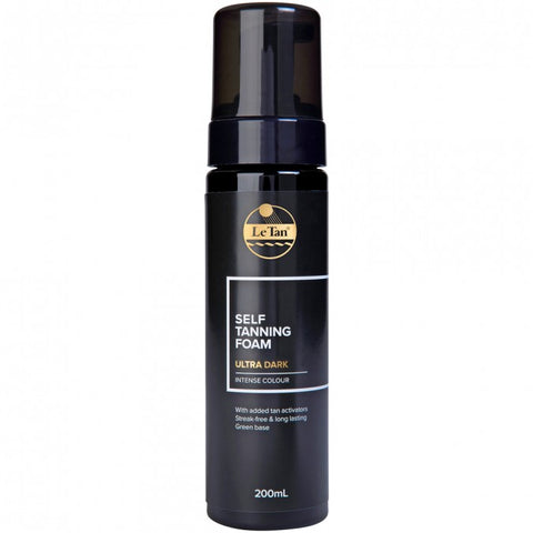 Le Tan Self Tanning Foam Ultra Dark 200ml
