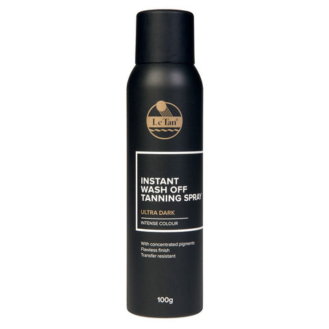 Le Tan Instant Wash Off Spray Ultra Dark 100g