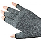 BA SOFT COMPRESSION ARTHRITIS GLOVES GREY (PAIR)