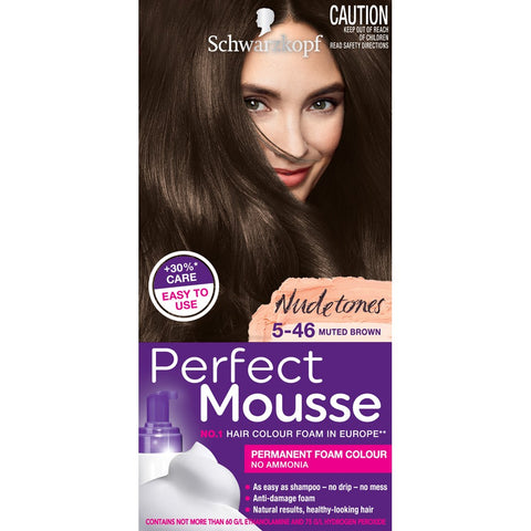 Schwarzkopf Perfect Mousse 5-46 Muted Brown