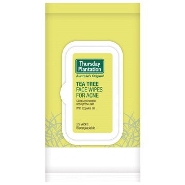 Thursday Plantation Tea Tree Acne Face Wipes X 25