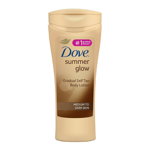 Dove Summer Glow Medium - Dark Skin 400ml