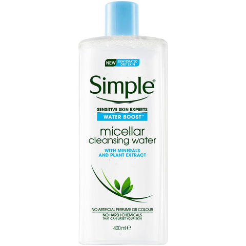 Simple Kind To Skin Micellar Water 400ml