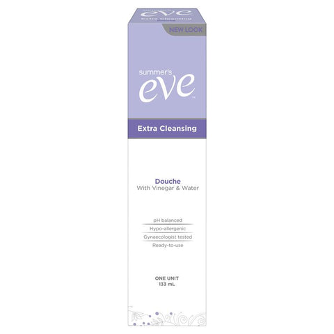 Summer's Eve Extra Cleansing Douche - Vinegar & Water - 133ml