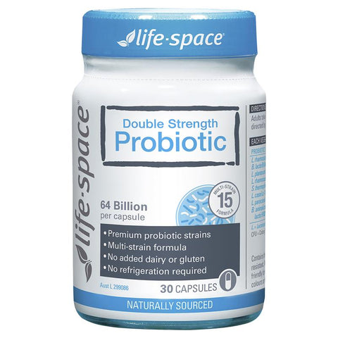Life Space Double Strength Probiotic 30 Capsules