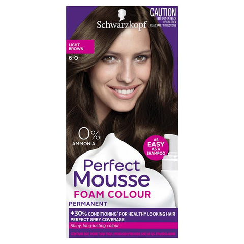 Schwarzkopf Perfect Mousse 6-0 Light Brown