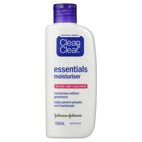 Clean & Clear Essentials Moisturiser 100ml