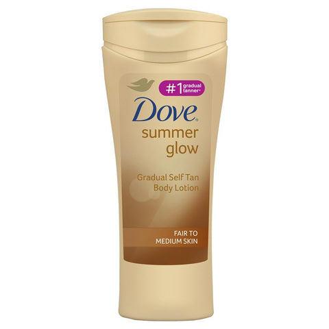 Dove Summer Glow Body Lotion Fair to Medium Skin 400ml