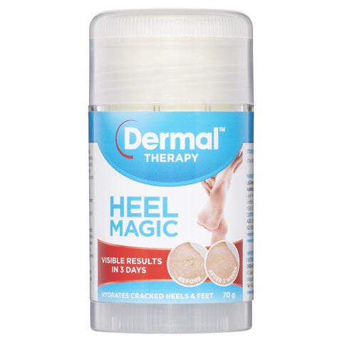 Dermal Therapy Roll On Heel Magic  70g