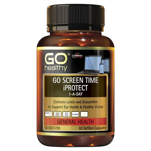 GO Healthy Screen Time iProtect 60 Softgel Capsules