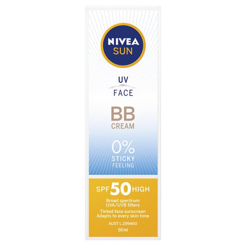 Nivea Sun SPF 50+ UV Face BB Cream 50ml