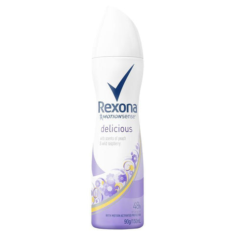 REXONA Women Antiperspirant Aerosol Deodorant Delicious 150mL