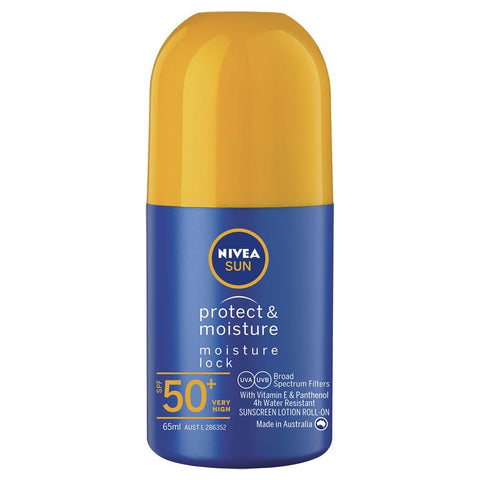 Nivea Sun SPF 50+ Protect & Moisture Roll On 65ml