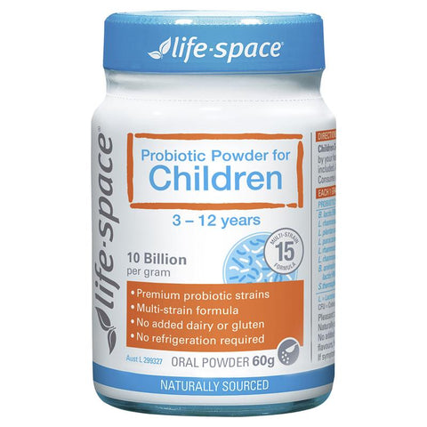 Life Space Probiotic Powder For Children 60g