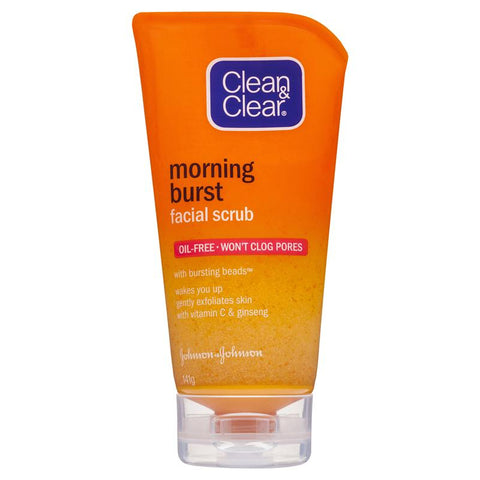 Clean & Clear Morning Burst Orange Facial Scrub 141g