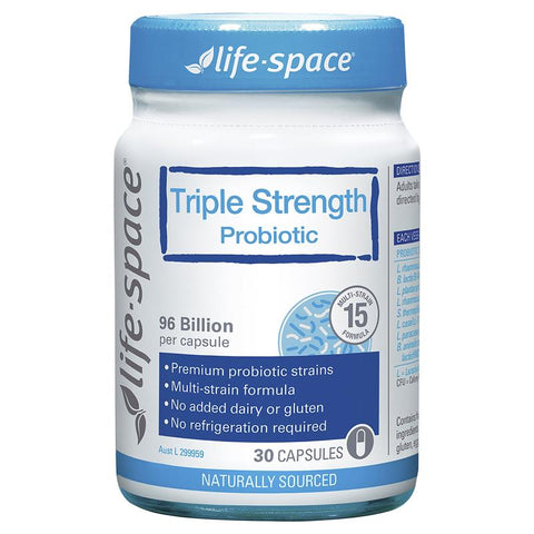 Life Space Triple Strength Probiotic 30 Capsules