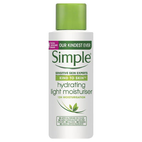 Simple Kind To Skin Light Moisturiser Hydrating 50ml