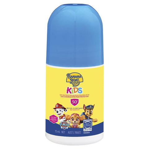 Banana Boat SPF 50+ Kids 75ml Roll On