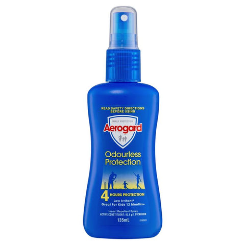 Aerogard Odourless Insect Repellant 135ml Pump