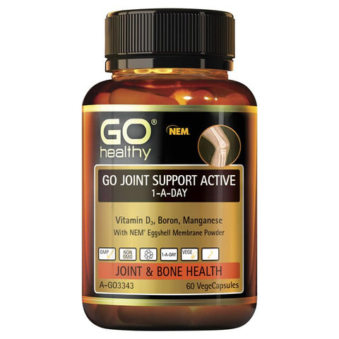 GO Healthy Joint Support Active 1 A Day 60 Vege Capsules