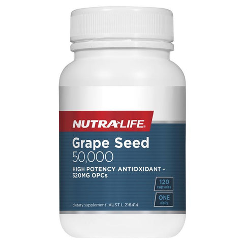 Nutra-Life Grape Seed 50000 120 Capsules
