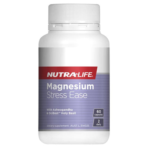 Nutra-Life Magnesium Stress Ease 60 Capsules