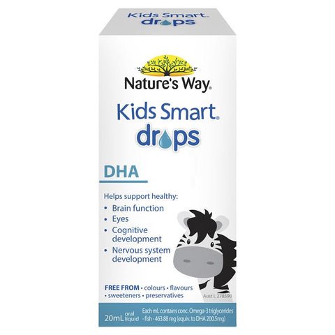 Nature's Way Kids Smart Drops DHA 20ml