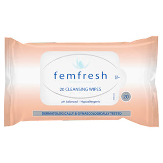 Femfresh Feminine Cleansing Wipes - 20 Pack