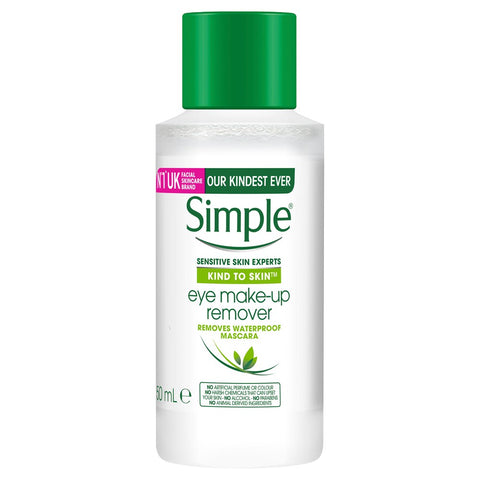 Simple Kind To Eyes Make-Up Remover Conditioning Eye 50ml