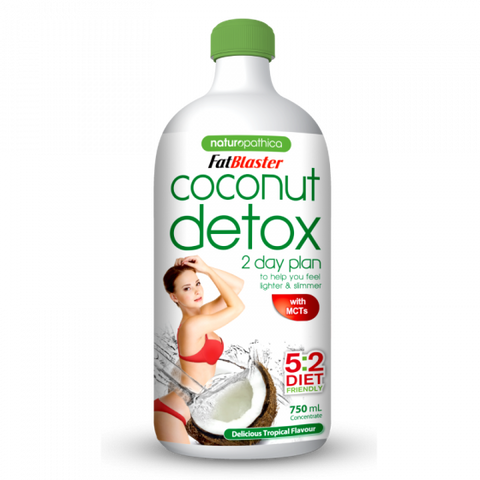 Naturopathica FatBlaster Coconut Detox 2 Day Plan Concentrate 750ml