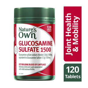 Nature's Own Glucosamine Sulfate 1500mg 120 Tablets