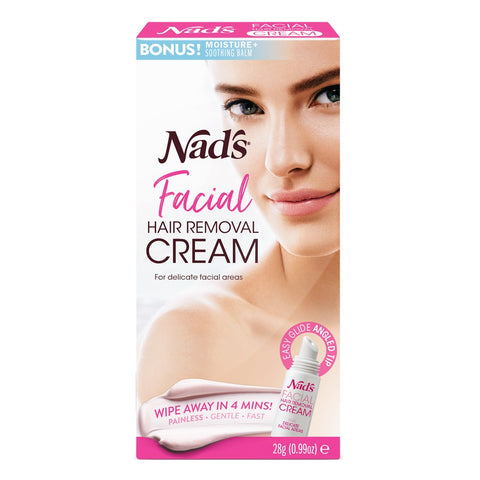 Nad's Facial Hair Removal Cream - 28g