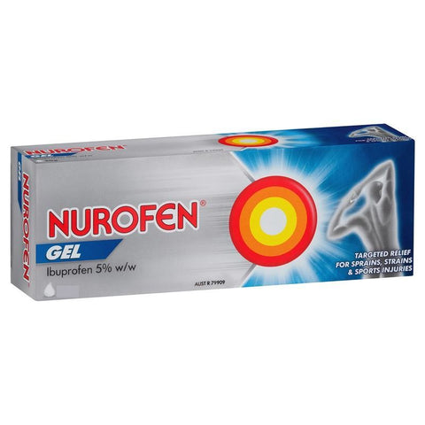 Nurofen Gel Topical Gel 100g for Sprains and Strains