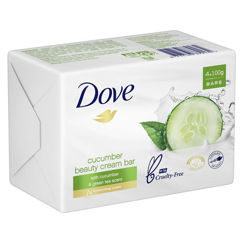 Dove Beauty Bar Fresh Touch 100g x 4 Pack