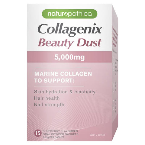 Naturopathica Collagenix Beauty Dust 5000mg 15 x 50g Sachets