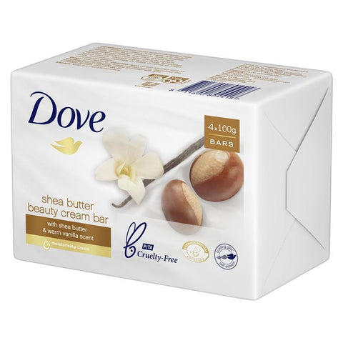 Dove Soap Beauty Bar Shea Butter 400g