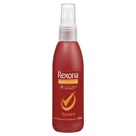 REXONA Women Antiperspirant Pump Deodorant Sport 150ml