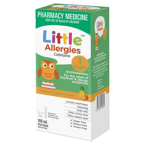 Little Allergies Orange Pineapple 100ml