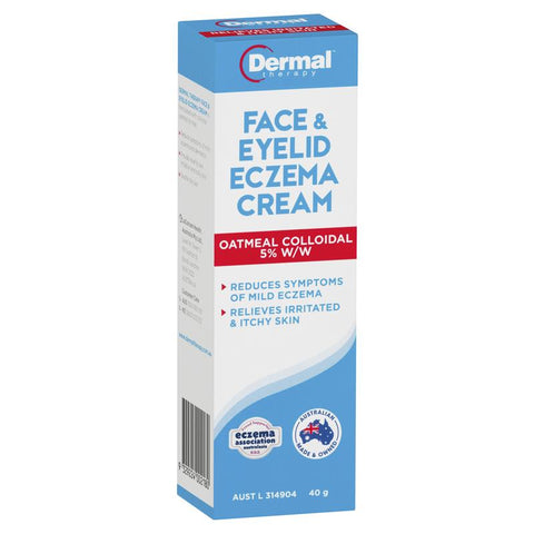 Dermal Therapy Face & Eyelid Eczema Cream 40g