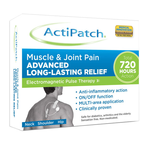 ActiPatch Muscle & Joint Pain Advanced Long Lasting Relief