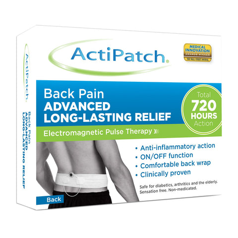 Actipatch Back Pain Advanced Long Lasting Relief